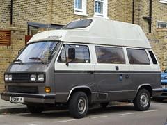 1985 Volkswagen Transporter Camper Van (Neil's classics) Tags: 1985 volkswagen transporter camper van t3 t25 vw camping motorhome autosleeper motorcaravan rv caravanette kombi mobilehome dormobile