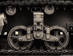 On Track (Robert Streithorst) Tags: armoredvehicle lunkenairport mono robertstreithorst tracks