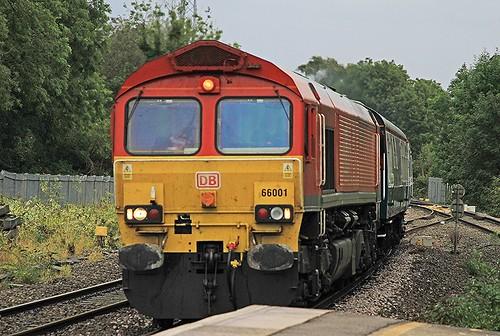 Class 66 66001 DB Hatton 24-09-2019