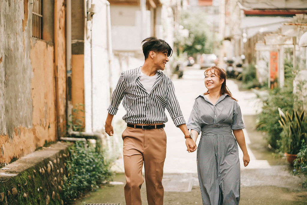 [美式婚紗]俊皓&佾萱 / 街拍