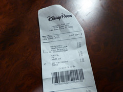 Florida Day 21 - 002 Port Orleans French Quarter Breakfast Receipt (TravelShorts) Tags: wdw waltdisneyworld waltdisneyworldresort waltdisney animalkingdom animal kingdom lodge boma buffet restaurant flavours africa food disney dining meat soup dessert table service animals springs blaze pizza drinks christmas themepark amusementpark tree snacks ford fusion
