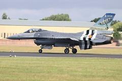 (scobie56) Tags: general dynamics f16a mlu fa57 350 squadron florennes bac belgian air component belgium riat 2019