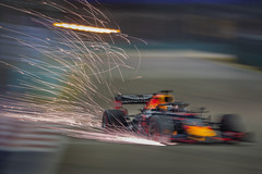 Fireworks on the Track (BP Chua) Tags: f1nightrace singapore singaporegp grandprix canon 1dx panning lowlight redbull redbullracing redbullf1 nightrace raceweekend