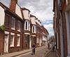 Mellow brick on East St. Helen Street, Abingdon, Oxfordshire