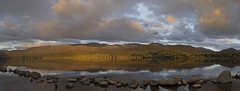 Loch Morlich (JaneTurner68) Tags: lochmorlich loch cairngormmountains cairngorms mountains sunset longestday june scottishhighlands scotland canonsx70 canon