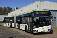 Solaris Urbino nSU18 Connexxion 9376 met kenteken 00-BLD-9 in de bus garage van Den Helder 21-09-2019 (marcelwijers) Tags: solaris urbino nsu18 connexxion 9376 met kenteken 00bld9 de bus garage van den helder 21092019 geledebus gelenkbus gelede coach buses busse lijnbus linienbus streekbus öpnv public transport noord holland nederland niederlande netherlands pays bas