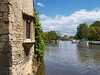 View upstream from St. Helen's Wharf. Abingdon, Oxfordshire, England