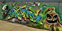 Graffiti. Bushwick. Brooklyn. JERMS. MERES. KRYME. RAPID RESPONSE.  TOPAZ > MS SHYNE. (Allan Ludwig) Tags: graffiti bushwick brooklyn meres kryme rapidresponse jermes topaz msshyne