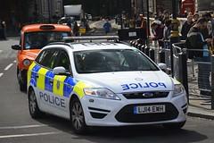 LJ14 EWH (S11 AUN) Tags: british transport police btp ford mondeo estate panda car incident response vehicle 999 emergency patrol lj14ewh