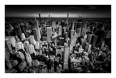 Skyline (TS446Photo) Tags: nikon zeiss nyc newyork city skyline buildings architecture fineart blackandwhite monochrome usa america