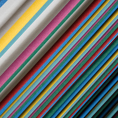 Fabric of colours (Ulrich Neitzel) Tags: abstract colour colourful curtain fabric farbe farbig lines linien mzuiko1240mm olympusem1 square streifen stripes