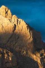 Sunset au Parc National des Ecrins. ( French Alps ) (Yannick Lefevre) Tags: europe france hautesalpes handheld provencealpescotedazur parcnationaldesecrins sunset light mountains mount montagne evening landscape blue yellow nikon sigmasports cliff peak shadows frenchalps alpes alps