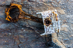 Corrosion (Alan Headland) Tags: corrosion rust salt seawater piston engine beach texture decay deterioration decomposition oxidation