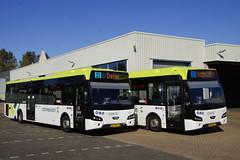 VDL Citea LLE-120/255 Connexxion 3244 met kenteken 59-BKX-9 en Connexxion 3257 met kenteken 00-BKZ-1 in de bus garage van Den Helder 21-09-2019 (marcelwijers) Tags: vdl citea lle120255 connexxion 3244 met kenteken 59bkx9 en 3257 00bkz1 de bus garage van den helder 21092019 bussen busse buses coach lijnbus linienbus streekbus autobus nederland niederlande netherlands pays bas noord holland öpnv public transport depot