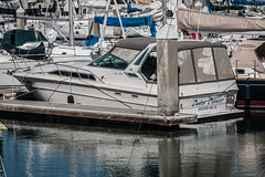 D28907E7 - Delta Dancer At South Beach Harbor (Bob f1.4) Tags: delta dancer sea ray 340 sundancer cruiser boat mini yacht san francisco bay south beach harbor marina vacation travel photograph boating express pier 40 two week visit