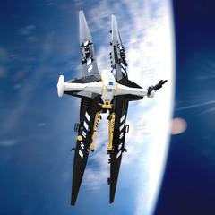 Jinx (Oscar Cederwall (o0ger)) Tags: lego moc ship shiptember2019 space spaceship bortomsol beyondsol