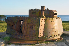 Pz. Kpfw. 38(t) Kampfwagentürm (Nils Mosberg) Tags: festunglista kampfwagentürm panzertürm atlanticwall atlantikwall