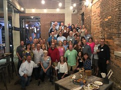 The whole gang at Labatt Bew House (jhr3) Tags: williamsville williamsvillesouth reunion 1979 2019 40th highschool