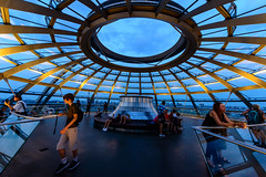 At the Top of the Dome (George Plakides) Tags: dome sirnormanfoster berlin bundestag reichstag