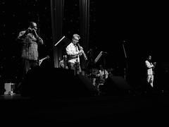 Alec Dankworth - Spanish Accents. Scarborough '19. P2510919 (Imagine Bill) Tags: alecdankworth spanishaccents scarborough scarboroughjazzfestival scarboroughjazz scarboroughspacentre scarboroughspa marklockheart doublebass jesusolmedo dance philrobson guitar rowlandsutherland flute demigarcia percussion