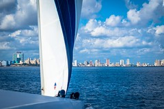 Arriving in Havana Cuba after sailing for 3 days from the Bahamas.  What a wonderful feeling!