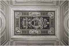 vatikan 14 (beauty of all things) Tags: italien rom roma vatikan gemälde paintings decken ceiling sw bw sakrales