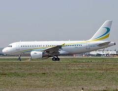9H-AFK Airbus A319 Comlux (@Eurospot) Tags: lfbo toulouse blagnac 9hafk airbus a319 a319cj comlux 2592