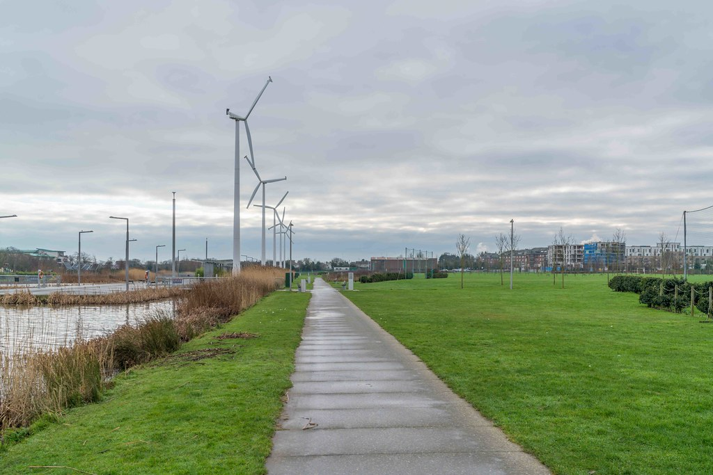 FATHER COLLIN'S PARK IS THE FIRST SUSTAINABLE PARK IN IRELAND [PHOTOGRAPHED IN JANUARY 2016]-156324