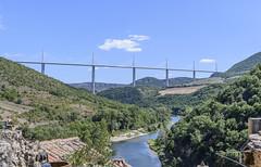 Millau Viaduct (thegrolffalo) Tags: millauviaduct bridge scene millau france nikond850 nikon2470mm peyre