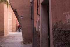 Passing through (Irina1010) Tags: medina city marrakesh street narrow motobike passing walls buildings morocco canon outstandingromanianphotographers