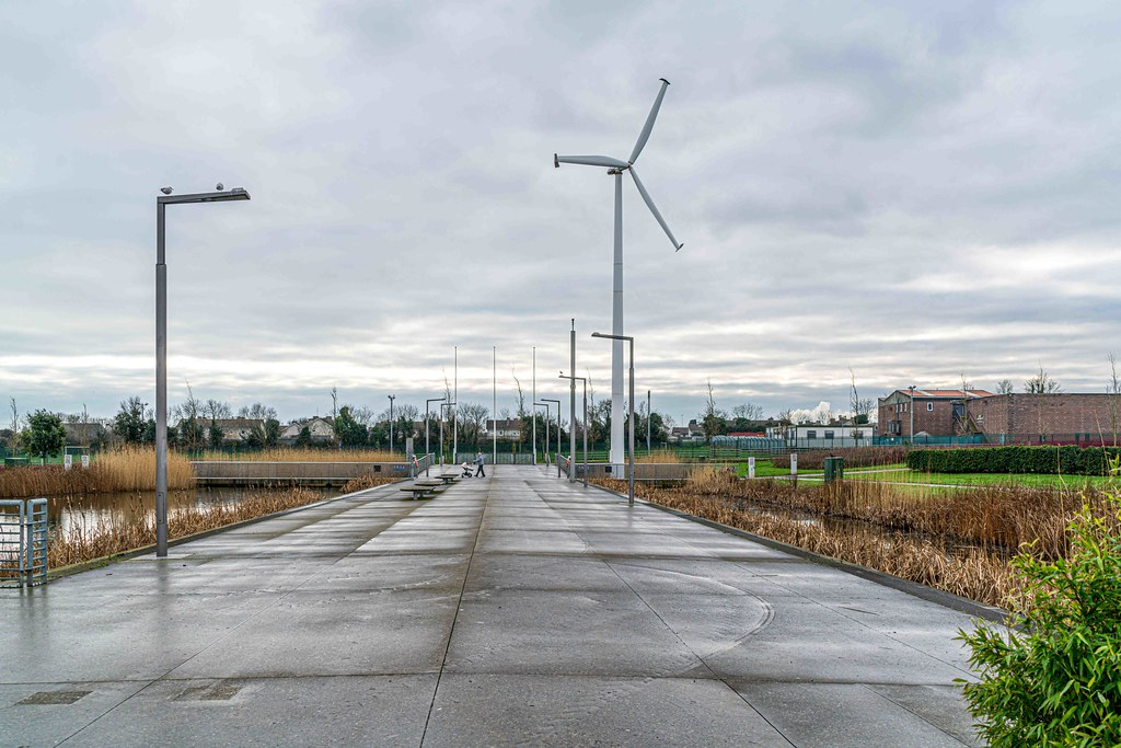 FATHER COLLIN'S PARK IS THE FIRST SUSTAINABLE PARK IN IRELAND [PHOTOGRAPHED IN JANUARY 2016]-156277