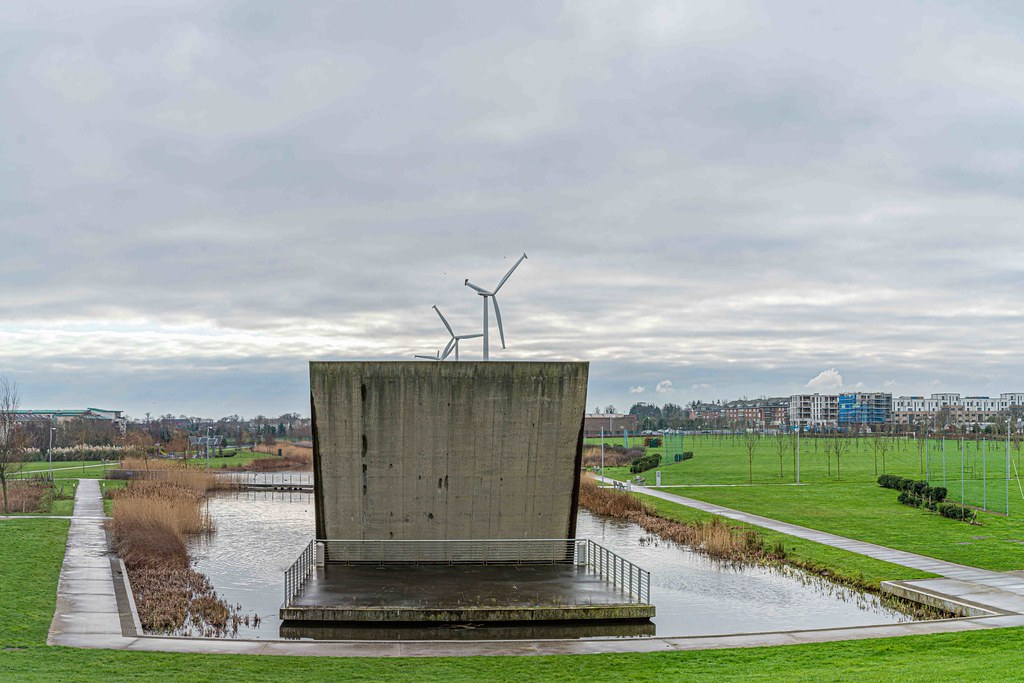 FATHER COLLIN'S PARK IS THE FIRST SUSTAINABLE PARK IN IRELAND [PHOTOGRAPHED IN JANUARY 2016]-156319
