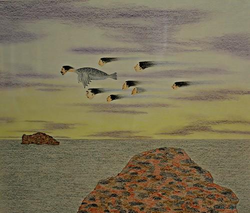 Untitled (Flying Shamans) by Nick Sikkuark, Toronto Biennial of Art, 259 Lake Shore Boulevard East, Toronto, ON