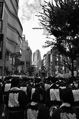 祭 (Architecamera) Tags: architecture people street snap shinjuku blackwhite blackandwhite monochrome festival