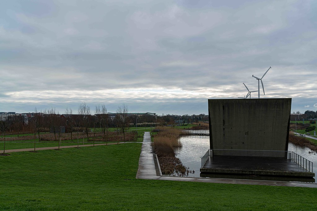 FATHER COLLIN'S PARK IS THE FIRST SUSTAINABLE PARK IN IRELAND [PHOTOGRAPHED IN JANUARY 2016]-156318