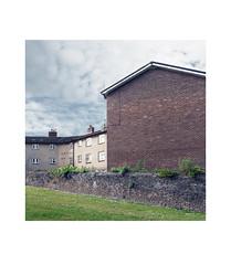 West Hoe Flats (chrisinplymouth) Tags: flats block socialhousing wall brick gableend westhoe plymouth devon england uk city cw69x wb xg square insquare housingestate trait diagonal diagx cameo