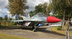 4108 (GSairpics) Tags: 4108 mikoyan mig29 polishairforce politechnikawroclawska technologyuniversity wroclaw poland mil military jet fighter fulcrum