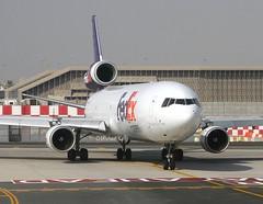 FedEx                                                   McDonnell Douglas MD11                                        N619FE (Flame1958) Tags: fedex fedexmd11 federalexpress md11 mcdonnelldouglas dxb n619fe dubaiairport 180919 0919 2019 9546