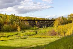 Week 39 of 52 - 2019 (Don Arsenault) Tags: colors camrose alberta landscape trees bridge canada canon2470f28lusm donarsenault scenery clouds canoneos5dmarkiii