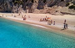 Egremni Beach, Lefkada (ForceMajeureMontenegro) Tags: griechenland greece grčka spiaggia egremni beach lefkada sea grčija water worldtrekker