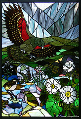 0529 NZ Scene in Stain Glass (Awesome Image Maker NZ) Tags: 2010 landscape location nzscene stainglass