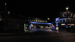 Bruce Grove Station (PhredKH) Tags: 2470mm afterdark canon canonphotography ef2470mmf4lisusm fredkh latenight london londonstreets londonbynight nightphotography nightscene northlondon photosbyphredkh phredkh splendid streetsoflondon tottenham urbanlondon nightpictures nightlife