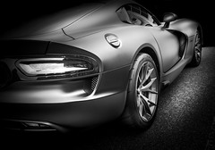 GTS (Dave GRR) Tags: dodge viper gts supercar sportscar hypercars auto show cars coffee monochrome mono black white toronto olympus