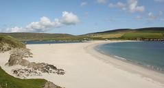 St Ninians Beach (Graham`s pics) Tags: stniniansbeach stniniansisle beach coast coastal sandcauseway causeway shore water shetland shetlandisles shetlandmainland northernisles scotland scenic scenery