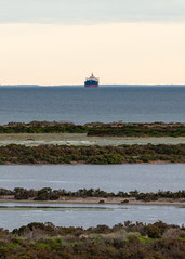 157766691501065_20190924_183231531 (nigel0577) Tags: altona 100 steps melbourne australia victoria sunset after before storm rain clouds sony alpha a99ii ilca99m2 70400mm tanker ship layers sea ocean water wetlands wetlends