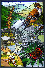 0528 NZ Scene in Stain Glass (Awesome Image Maker NZ) Tags: 2010 landscape location nzscene stainglass