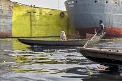 1102063657 (ak-67) Tags: river boats maritime people africa dhaka bangladesh