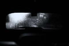 HWW Y'all (Sarah Rausch) Tags: iloveaustin windowwednesday mono sony rokinon14mm28 car bw blackandwhite dew drops backlight