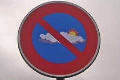 Clet_3626 baie des Trépassés Cléden-Cap-Sizun (meuh1246) Tags: streetart bretagne finistère cletabraham clet panneau baiedestrépassés clédencapsizun