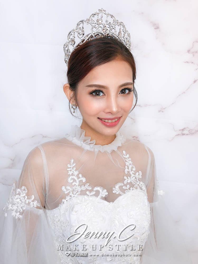 【新秘蓁妮】新娘造型創作 / 歐式皇冠造型